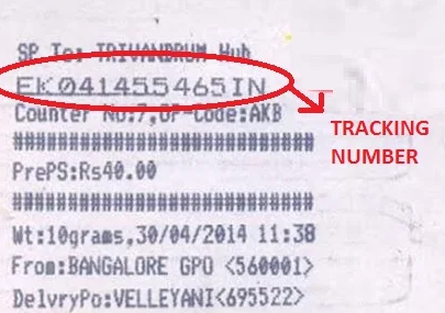 speed-post-tracking-number